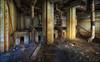 In der Fuchshöhle (Eric mit c) Tags: ruine lost place kindersanatorium zinnowitz erich steinfurth decay hinterlassenschaft ddr keller fuchs rohre
