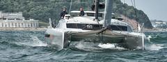 Hissy Fit   Dazcat 1495-20 (Dazcat Catamarans) Tags: boatbuilder compositeengineer cornwall dazcat plymouth powercat uk vsv veryslendervessel catamaran multimarine cruiser cruiserracer racer racing performance yacht c multihull