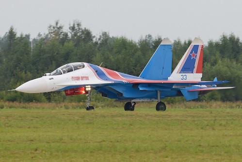 Sukhoi Su-30SM 'RF-81704 / 33 blue'