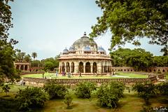 Isa Khan's Tomb (undeklinable) Tags: india indian delhi new old travel trip culture hindi tourism architecture history isa khan tomb humayun