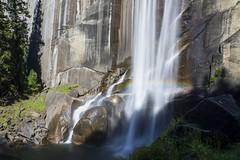 Vernal Fall Rainbow (Explored 3 oct. 2017) (RigieNL) Tags: californie yosemitenationalpark vernal vernalfall rainbow nature longexposure waterfall