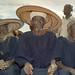 Village Elders at Dogon Mask Dance, Tireli, Mali, West Africa