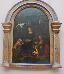 Paris (mademoisellelapiquante) Tags: museedulouvre louvre arthistory art paris france painting renaissance renaissanceart leonardodavinci 16thcentury 1500s