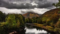 Autumn colours (Phil-Gregory) Tags: scotland nikon d7200 tokina 1116mm 1120mm 1116mmf8 1120mmf28 116proatx 1120 scenicsnotjustlandscapes landscapes reflections colours trees river bennevis