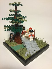 """""""It's a Revolution I suppose..."""" (Elven Ranger) Tags: soldiers history battle usa american revolution lego"""