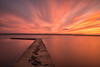 What a difference a day makes (Paul-Farrell) Tags: sunset longexposure westkirby marinelake wirral merseyside redsky ndfilter 10stop 24105mm canon
