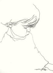 P1017124 (Gasheh) Tags: art painting drawing sketch portrait child line pen gasheh2017