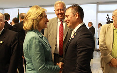 "PM-Schotte-meets-Hillary-Clinton-in-Brazil • <a style=""font-size:0.8em;"" href=""http://www.flickr.com/photos/137313818@N05/37502174112/"" target=""_blank"">View on Flickr</a>"