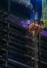 overnight welding (pbo31) Tags: sanfrancisco california night dark color nikon d810 city urban boury pbo31 october dall 2017 lightstream motion financialdistrictsouth construction elevator lift welding steel parktower howardstreet crane black beale smoke