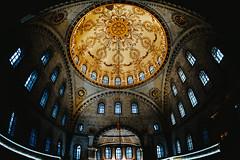Nusretiye Mosque (koolandgang) Tags: nusretiyecamii nusretiyemosque mosque cami istanbul tophane fisheye16mm nikond700 restoration dome kubbe cupola ottomanempire osmanlı architecture