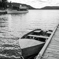 Tale of Two Boats (Bill Smith1) Tags: believeinfilm billsmithsphotography dorset fujineopanacros100 heyfsc lakeofbaysregion muskoka rolleiflexseriese35planartlr tmax14developer