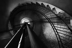 Spiral staircase (Picardo2009) Tags: colonia estanciaanchorena uruguay escalera espiral stairs torre spiralstaircase blackandwhite perspective lines featured travel picoftheday