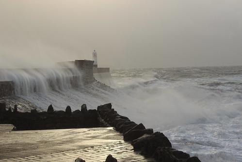 Porthcawl Storm Brian 013