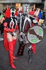 DSC_0368 (Randsom) Tags: newyorkcomiccon 2017 nyc convention october5 nycc comic book con costume newyorkcity october7 cosplay spawn lady black red spandex duo couple matchingcostumes javits october6