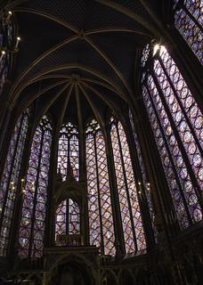 Sainte Chapelle Sunburst