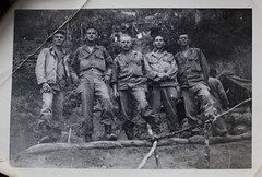 Band of Brothers (Dad) Sgt. Joseph C. Kelly second from left) (- the way I see it -) Tags: leyte gulf hollandia papua new guinea wwii world war two second red arrow 32nd division sixth army 1943 joseph c kelly joe 127th sgt philippines campaign