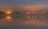 The lights on the other side (explore) (Antti Tassberg) Tags: reflection vanhakartano longexposure syksy yö pitkäjärvi järvi sumu autumn dark fall fog lake lowlight mist night nightscape espoo explore