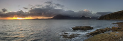 Sunset at Elgol (fearghal breathnach) Tags: isleofskye sunset seascape elgol skye scotland landscape indurotripods nisifilters panorama pano panoramic