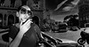 On a morning from a Bogart movie..... (Baz 120) Tags: candid candidstreet candidportrait city candidface candidphotography contrast street streetphoto streetcandid streetphotography streetphotograph streetportrait rome roma romecandid romepeople em5 europe women mft m43 monochrome mono monotone blackandwhite bw urban samyang75mmfisheye life primelens portrait people unposed omd olympus italy italia girl grittystreetphotography flashstreetphotography faces decisivemoment strangers