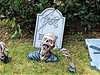 MUST BE CAREFUL WHERE I WALK (Visual Images1 (Thanks for over 4 million views)) Tags: zombie vinci poosprocessing halloween lawndecorations