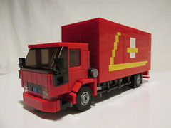 Ford Cargo Royal Mail (Lego guy 2) Tags: royal mail truck lorry lego 80s iveco ford