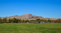 View From Gem Island Sport Complex (http://fineartamerica.com/profiles/robert-bales.ht) Tags: fb forupload gemcounty haybales idaho landscape mountain mountains people photo places projects scenic states emmett sweet squawbutte treasurevalley emmettvalley trees thebutte beautiful awesome magnificent peaceful wow town butte gem river payetteriver southwesternidaho reflections water scenicbiway blue whitewater picturesque robertbales beauty horizontal panoramic usa softball baseball soccer greetingcards sportcomplex
