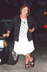 Dressed (clarkfred33) Tags: classy classylady pose dinner swimwear shoes evening adventure funlady jacket whiteskirt skirt