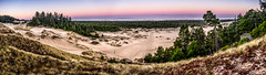 Oregon coastal dune sunrise (Mac H (media601)) Tags: oregondunesnationalrecreationarea sunrise oregon coast landscape dunes sand sanddunes