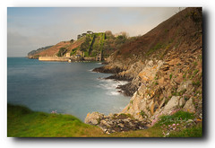 le fort du mengant a Brest (lp_alain) Tags: nikon nature nikkor bretagne brest brittany ocean longexposure morning coast finistere