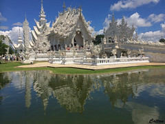 The White Temple - Thailand (cattan2011) Tags: building architecture streetart streetphoto streetpics streetphotography 泰国 thailand traveltuesday travelbloggers travelphotography travel whitetemple waterscape natureperfection naturephotography nature landscapephotography landscape