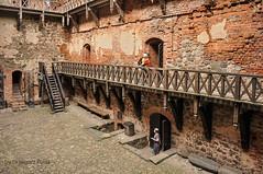 Troki/Trakai - the castle (Grzesiek.) Tags: troki trakai castle zamek dziedziniec courtyard