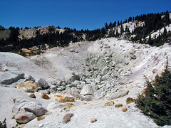 Hydrothermally-altered rocks (Bumpass Hell, Lassen Volcano National Park, California, USA) (James St. John) Tags: hot spring springs bumpass hell thermal area lassen volcano volcanic national park california hydrothermal cascade range hydrothermally altered rock rocks