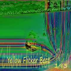 Yellow Flicker Beat - 193 (Front) (Paul B0udreau) Tags: cd cover cdcover mixtape mix albumart linernotes