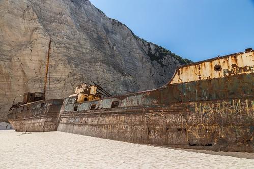 shipwreck beach, Zakinthos