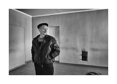 Village Cultural House (Jan Dobrovsky) Tags: leicaq people character indoor countryside leica monochrome human social portrait reallife blackandwhite volyn ukraine village countrylife document