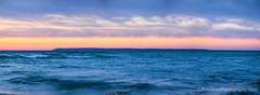 Lake Michigan ... October Hues (Ken Scott) Tags: southmanitouisland sunset panorama leelanau michigan usa 2017 october autumn fall colortour 45thparallel fhdr kenscott kenscottphotography kenscottphotographycom freshwater greatlakes lakemichigan sbdnl sleepingbeardunenationallakeshore voted mostbeautifulplaceinamerica