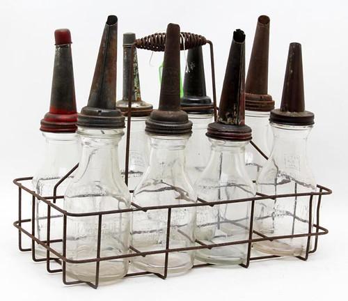 Glass Oil Bottles w/ Carrier ($235.20)