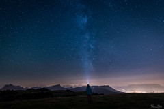 Star trail (Frédéric Pactat) Tags: nikon d750 afs ed fx d 750 20 mm f 18 f18 nikkor 20mm f18g mountains montagne milky way voie lactée étoiles stars nightscape night semnoz annecy aix les bains