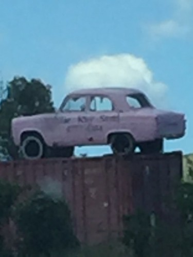FORD Prefect at Abercrombie on Goulburn Road from Blayney