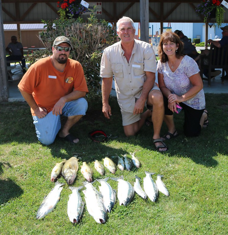 2017 07 08 Erieau Steelhead & Walleye Tournament
