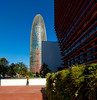 _DSC1317 (durr-architect) Tags: torre agbar tower barcelona jean nouvel modern high tech architecture rise bullet shape cylinder glass surface