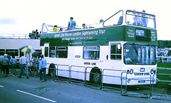 Slide 107-31 (Steve Guess) Tags: epsom surrey england gb uk bus open top topper topless lcbs london country green line leyland atlantean an110 mpj210l