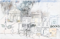 The South, 1955 (Jonathan Lurie) Tags: saul steinberg art museums between lines museum chicago drawing 1955 institute aic artinstitutechicago artinstituteofchicago artinstitute artmuseum artinmuseums betweenthelines saulsteinberg illinois unitedstates us