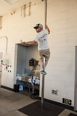 0.a Ian at Fire Station - photo by Jason Goodrich