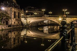 St Michael's Bridge in Gent