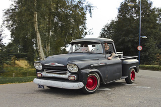 Chevrolet 31 Apache Stepside Pick-Up Truck 1958* (9753)