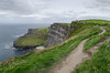 179/365 - Cliffs of Moher (Spannarama) Tags: cliffs path cliffsofmoher sea clouds coclare ireland grass pathscaminhos
