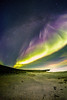 Rainy day of aurora borealis (Zeeyolq Photography) Tags: night beach auroraborealis stars milkyway sky space islande iceland northernlights sea vesturland is