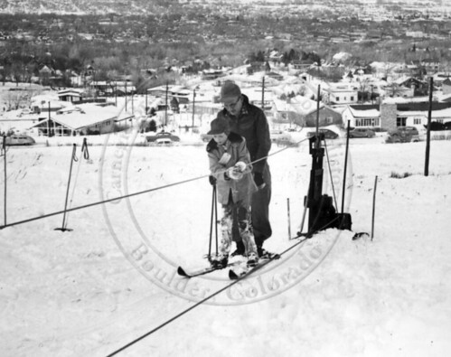 Photo - The tow rope in use (1948-1949).