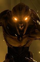 """Alpha"" [Alt.] (L1netty) Tags: srwe pc games gaming reshade screenshot idsoftware doom imp demon portrait 8k color videogame character bethesdasoftworks evil closeup eyes face"